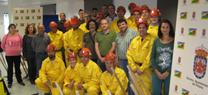 La Junta proporciona material de lucha contra el fuego al Grupo Local de Pronto Auxilio de Fiñana