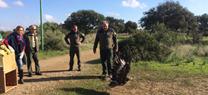 Medio Ambiente libera en Guadalcázar un águila real recuperada en el CREA de Los Villares
