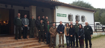 El delegado de Medio Ambiente se reúne con empresas locales del Parque Natural Sierra de Hornachuelos