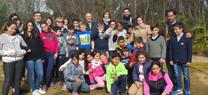 La Junta celebra con unos 50 escolares de la Ciudad de los Niños el Día de los Humedales en el Jardín Botánico Dunas del Odiel