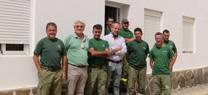 El delegado de Medio Ambiente destaca la operatividad del retén del Infoca situado en la zona de El Cabril