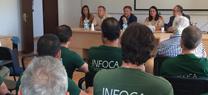 Medio Ambiente insta al Ministerio a reconocer la categoría de bombero forestal a los trabajadores del dispositivo Infoca