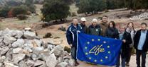 """Medio Ambiente desarrolla trabajos de conservación en la finca """"Mata Begid"""" de Cambil a través del proyecto Life+bioDehesa"""