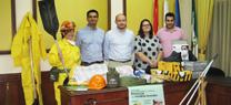 La Junta entrega material de lucha contra el fuego al Grupo Local de Pronto Auxilio de Turre