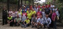 El Parque Natural 'Sierra María-Los Vélez' acoge un encuentro de 500 mayores del norte de la provincia de Granada