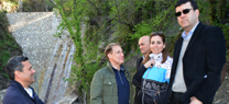 Medio Ambiente invierte 2,5 millones en la construcción de seis diques contra deslizamientos en la Alpujarra granadina