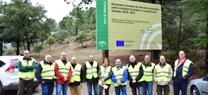 La Junta invierte 2,5 millones de euros en obras de selvicultura preventiva de incendios forestales en los espacios naturales de Granada