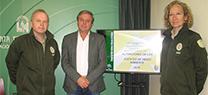 Los agentes de Medio Ambiente realizan un total de 93.000 actuaciones en la provincia de Jaén durante el año pasado