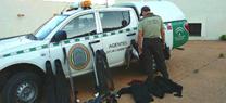 Agentes de Medio Ambiente decomisan artes de pesca submarina, prohibida en el Parque Natural Cabo de Gata-Níjar