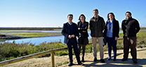 La Junta inaugura en San Fernando la primera puerta de acceso al Parque Natural Bahía de Cádiz