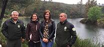 La Junta recupera las masas forestales de La Pata del Caballo, una de las zonas más afectadas por el incendio de 2004