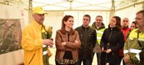 La Junta realiza un simulacro de incendio forestal para evaluar y avanzar en la operatividad del Plan Infoca