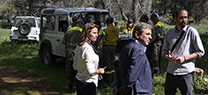 Infoca y Agentes de Medio Ambiente realizan un ejercicio para coordinar acciones ante un incendio forestal