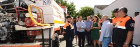 Medio Ambiente cede el uso de un vehículo contra incendios al Ayuntamiento de Pulianas