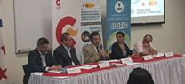 Miembros del CENTA trasladan su experiencia en saneamiento de aguas residuales durante una visita a Panamá