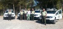 La Junta entrega 4 vehículos para mejorar la vigilancia y custodia del entorno natural de Almería