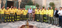 La Junta reconoce a los trabajadores de Infoca de Córdoba que han participado en la extinción del incendio de Portugal
