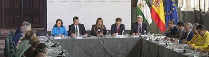 Díaz destaca el incremento presupuestario para el Plan Infoca, tanto para prevención como para la dotación de personal