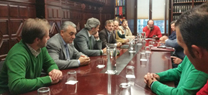 Reunión con la Federación Andaluza de Caza