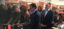 José Fiscal inaugura la Feria Agroganadera y del Cerdo Ibérico y su Industria de Villanueva de los Castillejos