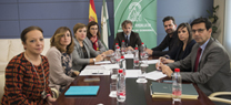 Reunión con los responsables de los consorcios de aguas del área metropolitana de Granada