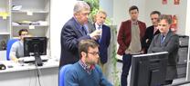 El consejero de Medio Ambiente visita las instalaciones  de Inerco en Sevilla