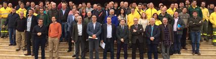 Ciento ochenta técnicos y especialistas del dispositivo Infoca se reúnen en una jornada para su análisis y mejora