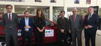 Vehículos del Congreso Internacional de Cambio Climático SOCC Huelva 2017