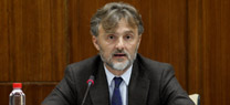 José Fiscal en el Parlamento andaluz