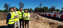 La Junta construye un paso de fauna en la carretera entre Almonte y El Rocío, con una inversión de 560.000€
