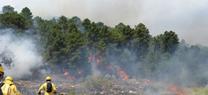 La Junta realiza obras de emergencia en la zona afectada por el incendio de Segura de la Sierra