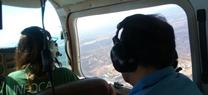 Infoca vigila desde el aire las zonas de Andalucía que registran un mayor número de incendios forestales