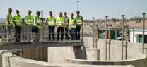 La Junta impulsa la finalización de las obras de la estación de depuración de aguas residuales de Uleila del Campo