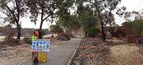 Medio Ambiente concluye las obras de emergencia en la zona afectada por el incendio de Las Peñuelas