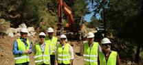 La Junta destina más de 200.000 euros a la mejora de caminos forestales en el monte 'Los Murtales' en el municipio de Turre