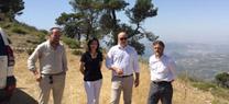 Medio Ambiente destinará 13 millones de euros en la mejora y modernización de caminos forestales hasta el año 2018