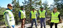 La Junta desarrolla tareas preventivas contra incendios forestales sobre 60 hectáreas de la Sierra de Baza