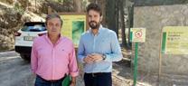 Medio Ambiente trabaja en la conservación de 51 kilómetros de caminos forestales en el Parque Natural de Sierra Mágina