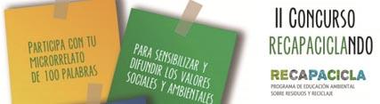 Medio Ambiente convoca la segunda edición del concurso de microrrelatos para promover el reciclaje de residuos