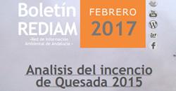 Boletín REDIAM. Febrero 2017