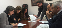 La delegada territorial aborda en El Campillo los asuntos medioambientales de principal interés