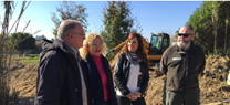 Medio Ambiente y Ordenación del Territorio finaliza la primera fase de las obras de emergencia en Aljaraque