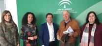 Firma de la constitución formal de la Comunidad de Regantes Onuba