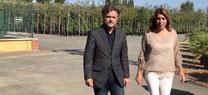 Los Viveros de Andalucía preparan la producción de plantas para la futura restauración de la zona afectada por el incendio del entorno de Doñana