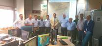 Una delegación del Consejo Regional de bomberos forestales chilenos visita las instalaciones del Plan Infoca