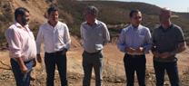 Visita del director de Gestión del Dominio Público Hidráulico