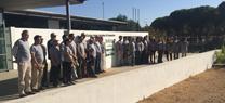 Una recogida de semillas se convierte en la primera actividad de voluntariado para la restauración del incendio de Las Peñuelas