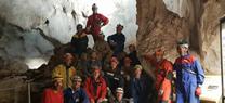 Medio Ambiente recoge más de 400 kilos de restos de obras y material en la Cueva de los Murciélagos