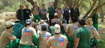 Menores del Centro 'Tierras de Oria' participan en labores de conservación del Parque Natural Sierra María-Los Vélez