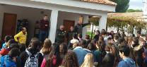 El delegado de Medio Ambiente presenta el dispositivo INFOCA al alumnado del Colegio Virgen del Carmen